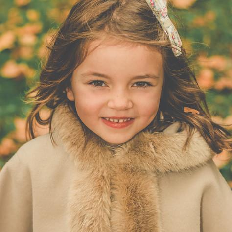 Autumn Child Portrait SW11 SW12 SW4 Marianne Haggstrom Photography