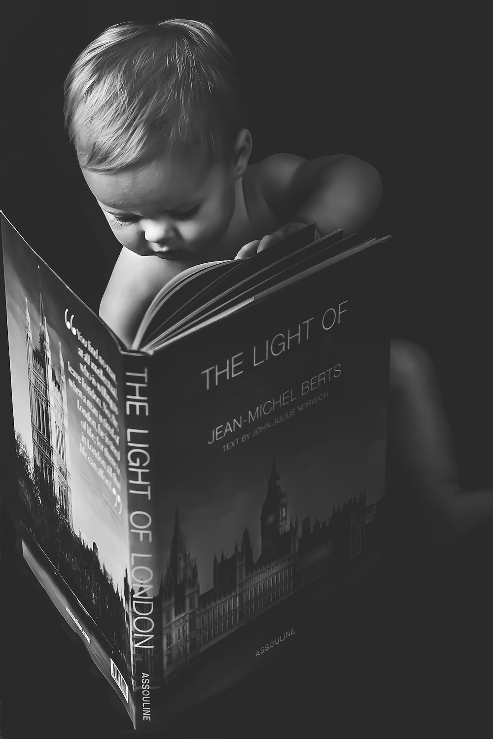 "Marianne Haggstrom Photography - Ava & Jean-Michel Berts ""The Light of London""  - Matte edit - Child portrait - SW11 Battersea London"