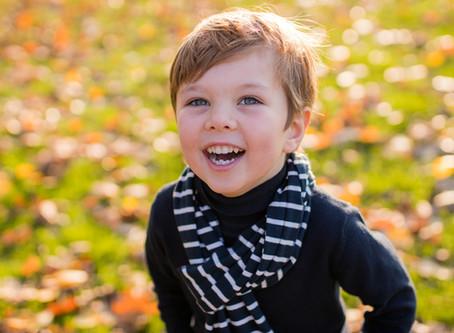 Successful child & family portrait photoshoot