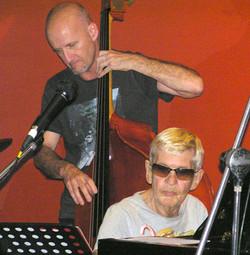 David Taylor (Dble Bass) and Bobby Vinnard (Piano)
