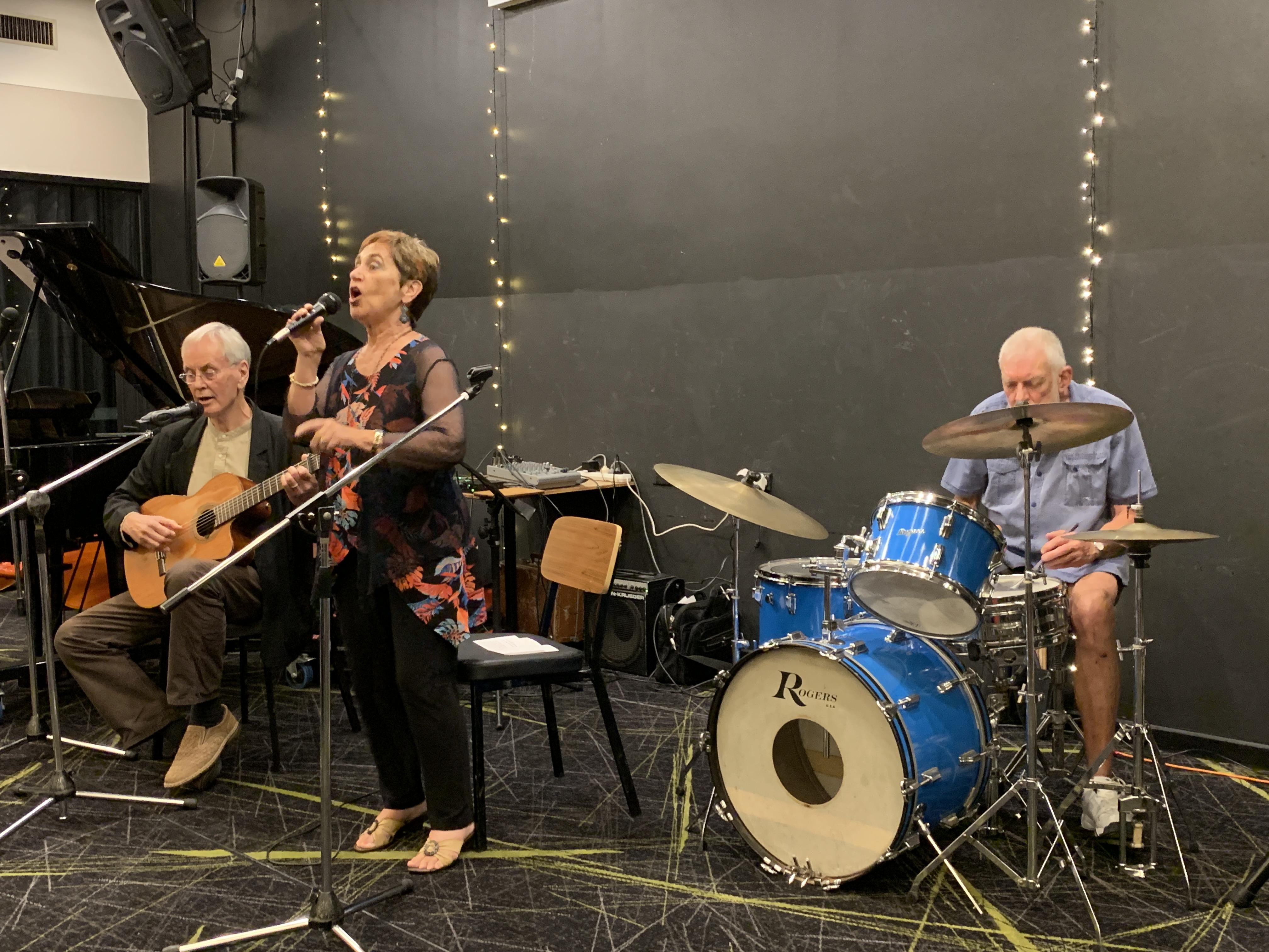 David, Lynne and Howard Feb 2019