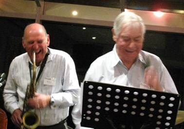 Barrie Boyes and Jack Morris Mar 2010