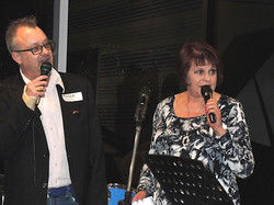 Don and Judee running the show