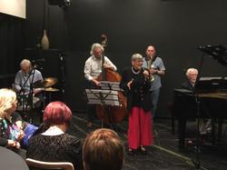Anne Hayres swings by for a sing