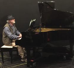 Michael G at the keys