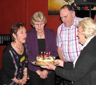 Birthdays Lynne, Kaye, Allan and Sheila