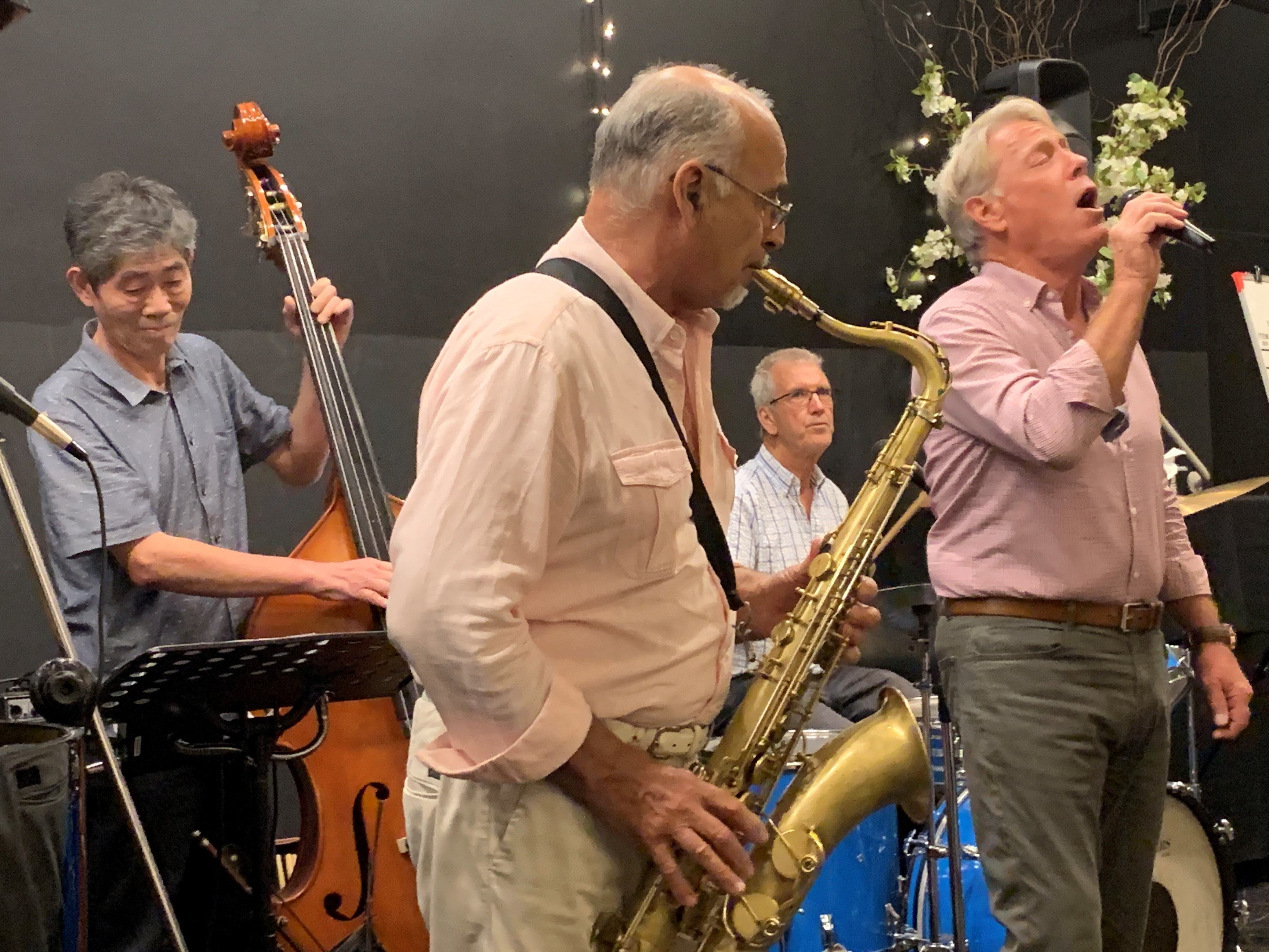 Eiji, John, Paul and Stuart Jan 2019