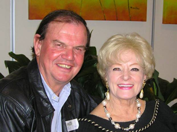 Bruce Logan and Dorothy Baker