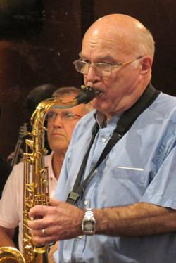 Paul Phillips - Drummer and Colin Garrett - Saxaphone