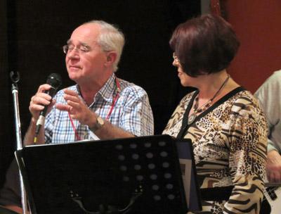 Sylvester and Judee - May 2012