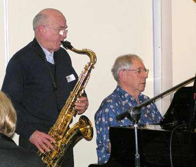 Colin Garrett & Bill Leithhead - Sept 2010