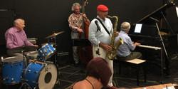 John Calabarra with Howard R, Doug K and