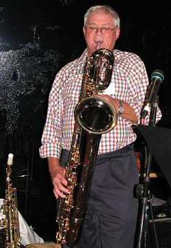 Bob Casely on baritone - April 2012