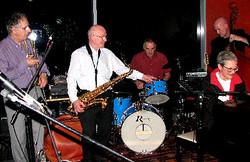 Ezra, Colin, Allan, David and Marion Aug 2011