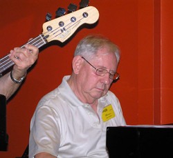 Bill Leithhead (Piano) also Secretary, ShowBiz Soical Club Mon 230112