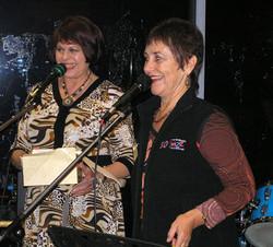 Judy Horin and Lynne Gough