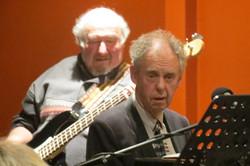 Ivan Videky (Bass) and Pianist Neville Turner- ShowBiz Social Club 240912