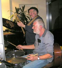 Ivan Videky and Alan Richards