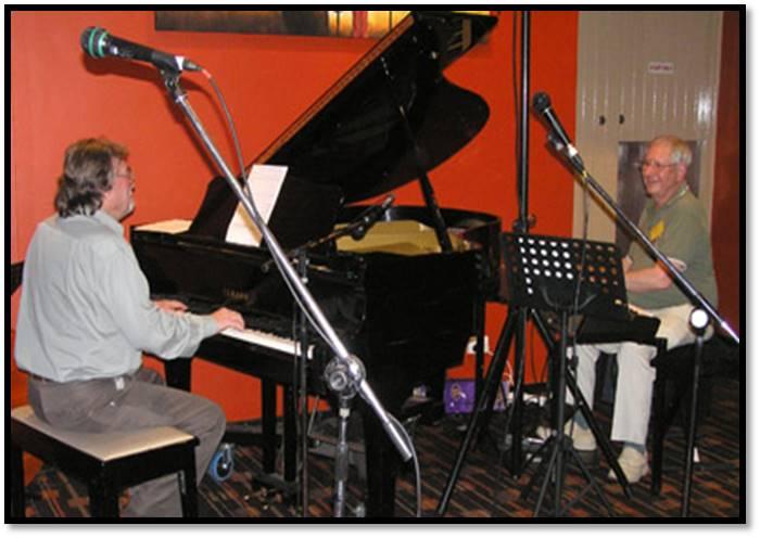 Ray Haynes and Bill Leithhead Aug 2011