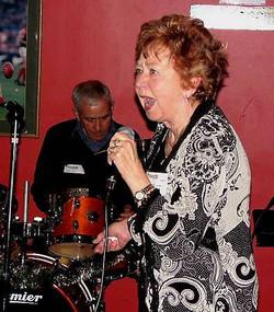 Katie sings with vigour