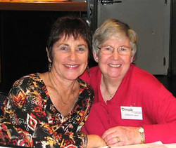 Lynne and Glenyce - May 2012