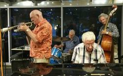 Bob Whetsone with Alan, Doug and Grahame