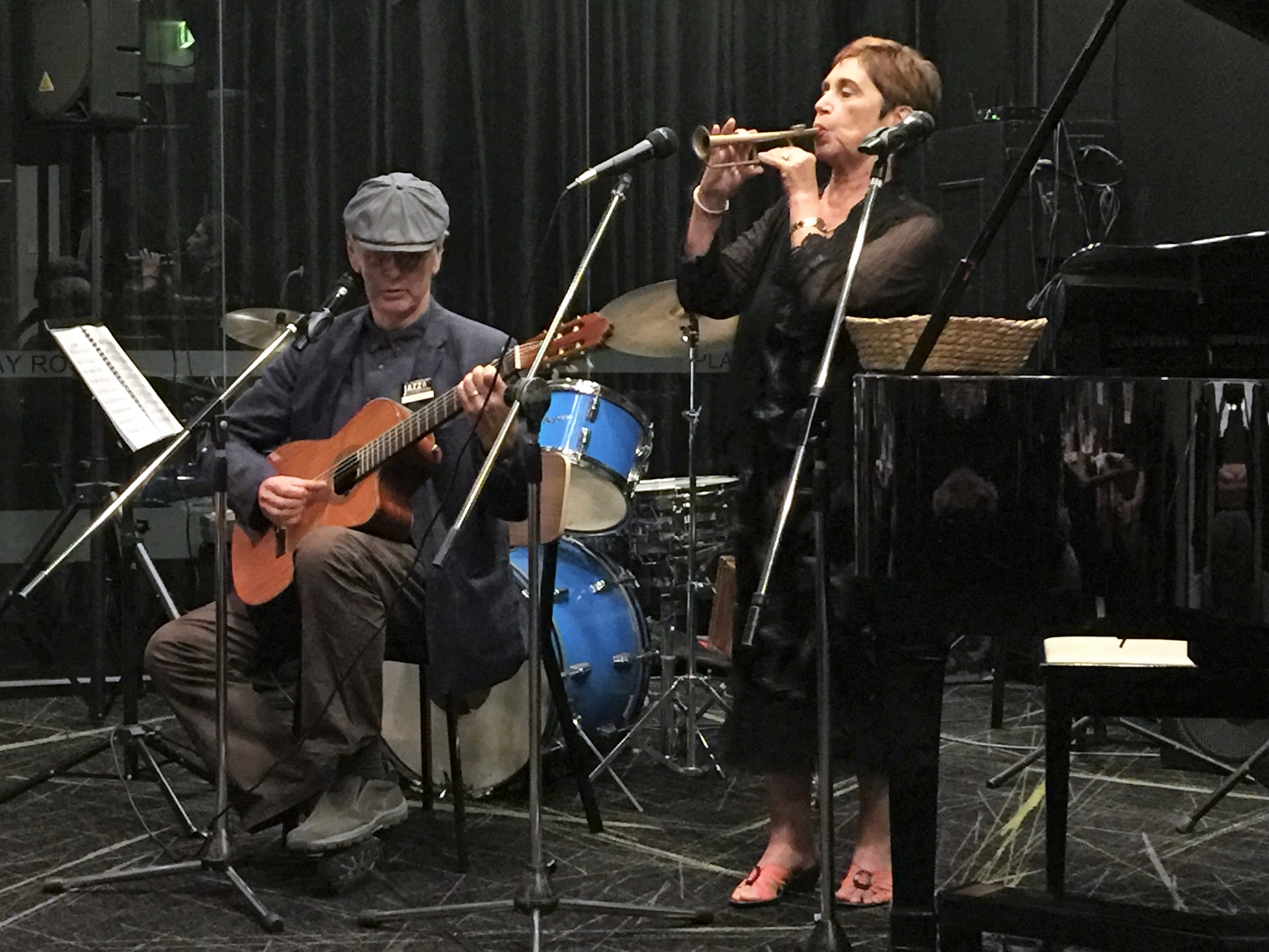 Blue Tango Acoustic Duo - Lynne's  trump