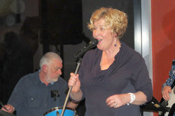 Alan Richards - Drummer with Mary Louise Hatch - 260813