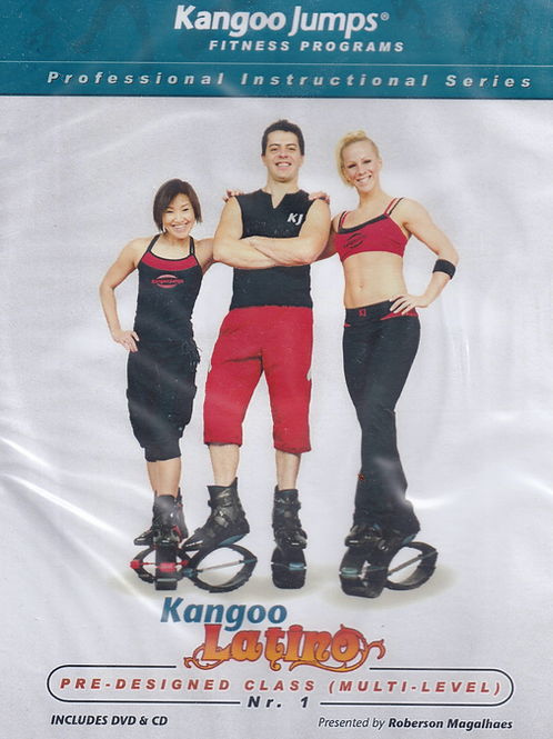 Kangoo Latino DVD&CD