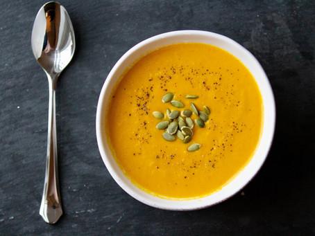 Carrot-Ginger Soup (GF, V)
