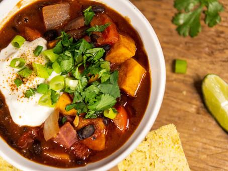 Easy Vegan Chili (GF, V)