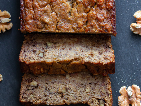 Banana Walnut Bread (GF, VO)
