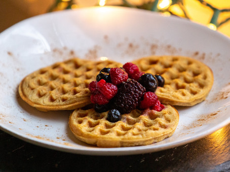 Best Ever Gluten-Free, Vegan Waffles