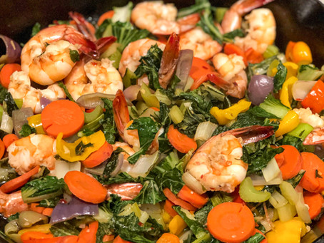 Shrimp Stir-Fry with Veggies