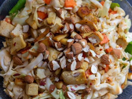 Crunchy Thai Peanut Salad (GF, V)