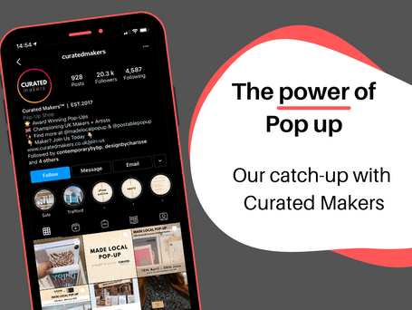 The Power Of The Pop Up: Curated Makers