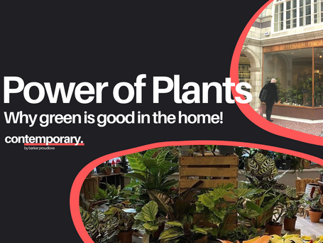 Why green is good in the home!