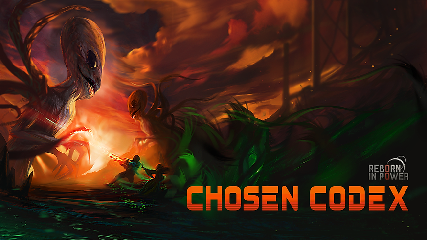 Reborn in Power: Chosen Codex Artwork