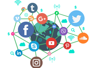More than half the world's population – 4.2billion people – use social media at the star tof 2021