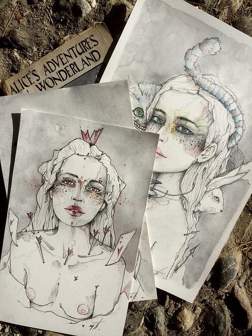 Alice in wonderland, alternative serie.