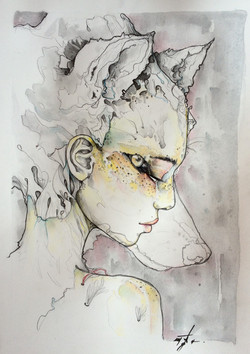 wolf lady'1