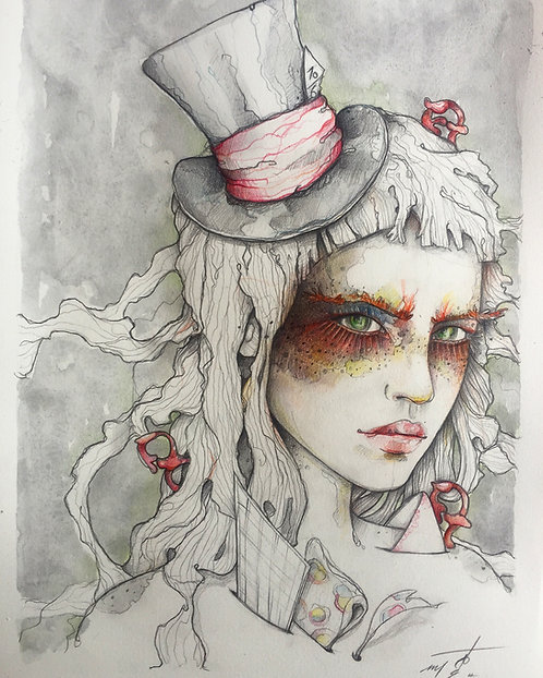 The mad hattress