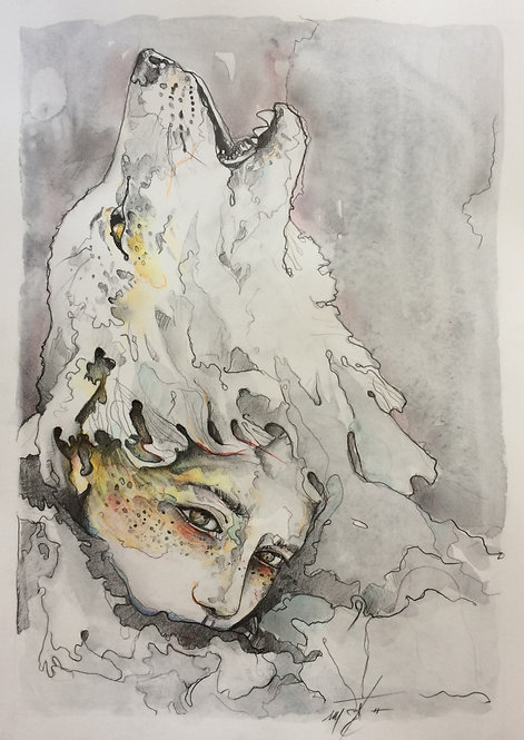 wolf lady*2