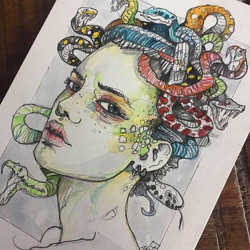 * melancholy medusa  *  gorgon **  little piece