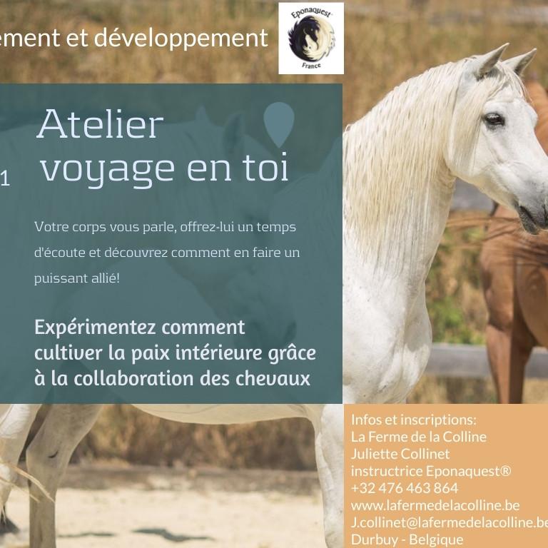 Atelier Voyage en toi 4ème édition!