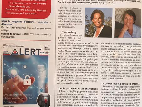 Parution dans la revue de la CCI Luxembourg belge de janvier 2018