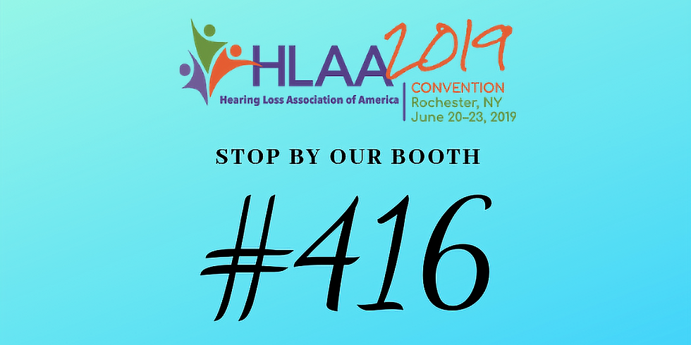 Hearing Loss Association of America Convention
