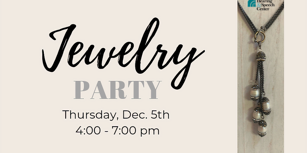 It's a Holiday Jewelry Party to support RHSC