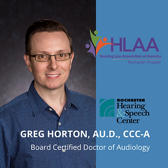 Dr. Greg Horton, HLAA Virtual Talk 2.9.2