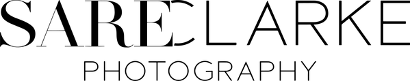 sareclarke photography logo by Studio Ze